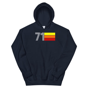 Retro Expo 1971 Men's Women's Unisex Hoodie