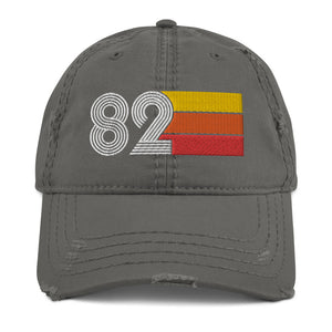 1982 Retro 82 Distressed Dad Hat