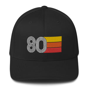 1980 Retro Fitted Structured Twill Cap