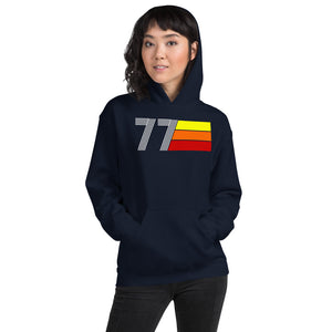 Retro Expo 1977 Men's Women's Unisex Hoodie