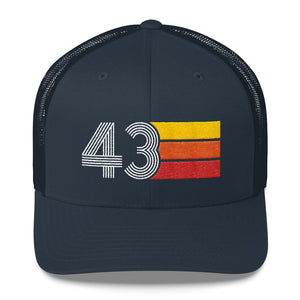 1943 RETRO BIRTHDAY GIFT MENS WOMENS Trucker Cap