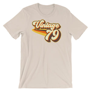 Vintage 1979 Short-Sleeve Unisex T-Shirt