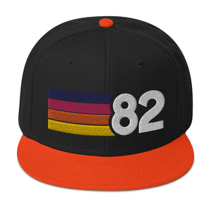 1982 Sunset Snapback Hat