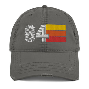 1984 Retro 84 Distressed Dad Hat
