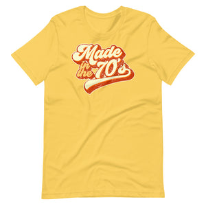 Made in the 70s Retro Short-Sleeve Unisex T-Shirt