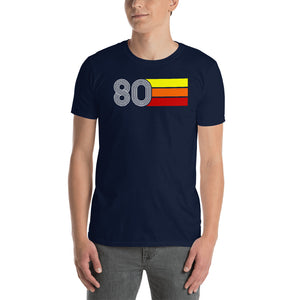 Retro Expo Lines 1980 Men's T-Shirt