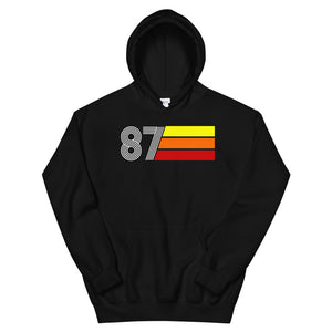 Retro Expo 1987 Men's Women's Unisex Hooded Sweatshirt
