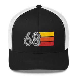 Vintage 1968 50th Birthday Trucker Cap - Styleuniversal