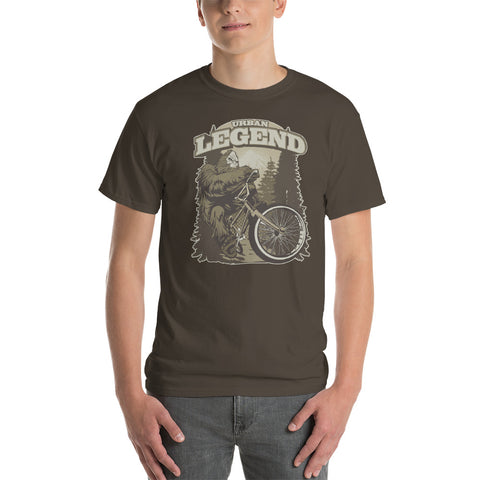 Sasquatch Urban Legend Mountain Bike Short-Sleeve T-Shirt