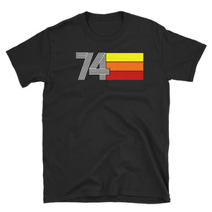 RETRO EXPO 1974 MEN'S WOMEN'S Short-Sleeve Unisex T-Shirt