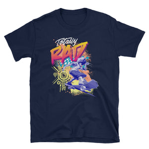 Totally Rad Afro Skater Short-Sleeve Unisex T-Shirt - Styleuniversal