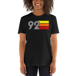 RETRO EXPO 1992 MEN'S WOMEN'S SHORT-SLEEVE UNISEX T-SHIRT
