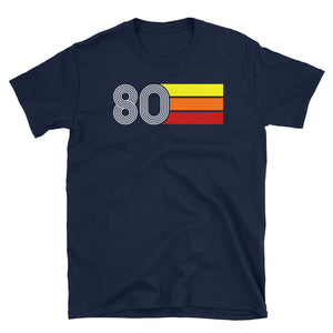 Retro Expo Lines 1980 Men's Women's T-Shirt