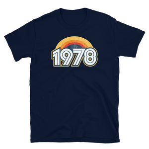 1978 Retro Horizon Short-Sleeve Unisex T-Shirt