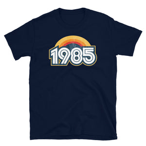 1985 Retro Horizon Short-Sleeve Unisex T-Shirt