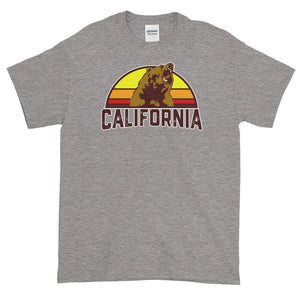 California Bear Retro Short-Sleeve T-Shirt - Styleuniversal