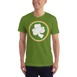 St Patrick's Day Shamrock Circle T-Shirt