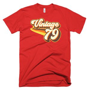Vintage 1979 Retro Birthday Vintage79 T-Shirt