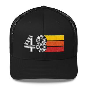 1948 RETRO BIRTHDAY GIFT MENS WOMENS Trucker Cap