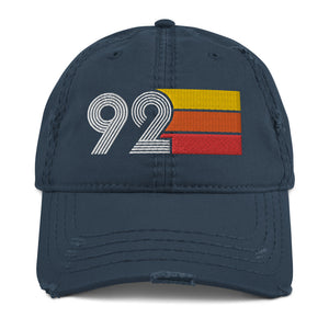 1992 Retro 92 Distressed Dad Hat