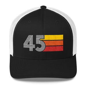 1945 RETRO BIRTHDAY GIFT MENS WOMENS Trucker Cap