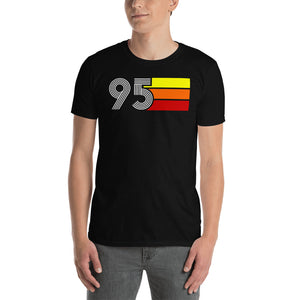 RETRO EXPO 1995 MEN'S WOMEN'S SHORT-SLEEVE UNISEX T-SHIRT