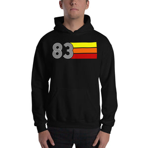 Retro Expo 1983 Men's Women's Unisex Hoodie