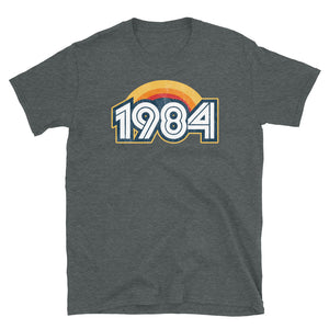 1984 Retro Horizon Short-Sleeve Unisex T-Shirt