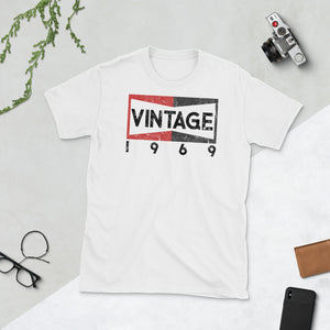 Vintage 1969 Champion 50th Birthday Once Upon in Hollywood Cliff Booth Short-Sleeve Unisex T-Shirt