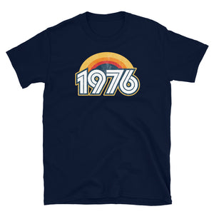 1976 Retro Horizon Short-Sleeve Unisex T-Shirt