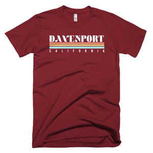 Davenport California Short-Sleeve T-Shirt - Styleuniversal