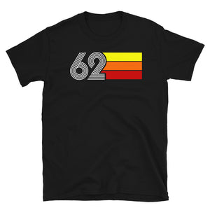 RETRO EXPO 1962 MEN'S WOMEN'S SHORT-SLEEVE UNISEX T-SHIRT