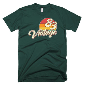 Vintage 1983 Retro Birthday Short-Sleeve T-Shirt - Styleuniversal