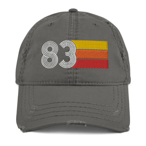 1983 Retro 83 Distressed Dad Hat