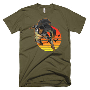 Midnight Sun Black Super Hero T-Shirt - Styleuniversal
