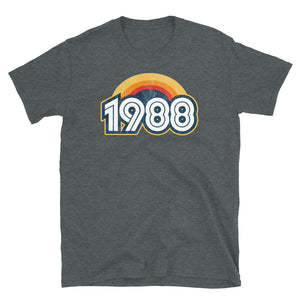 1988 Retro Horizon Short-Sleeve Unisex T-Shirt