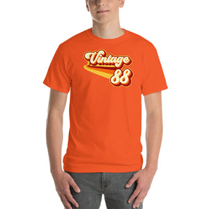 Vintage 1988 Warm Retro Lines CLASSIC FIT Short-Sleeve T-Shirt