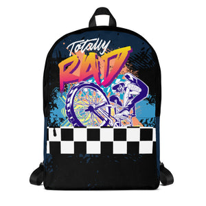 Totally Rad BMX Bike Freestyle Backpack - Styleuniversal