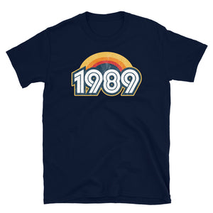 1989 Retro Horizon Short-Sleeve Unisex T-Shirt