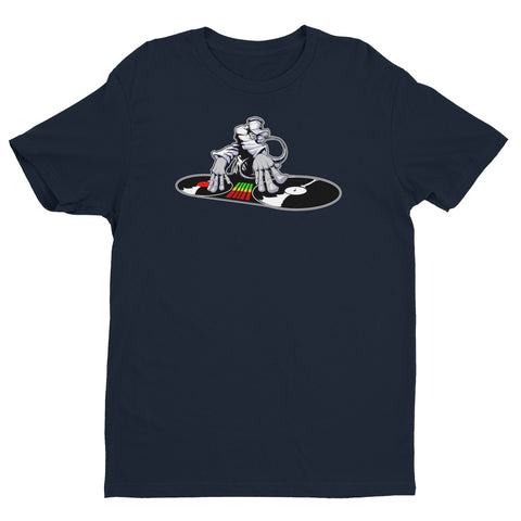 DJ HipHop Turntable Art Short Sleeve T-shirt