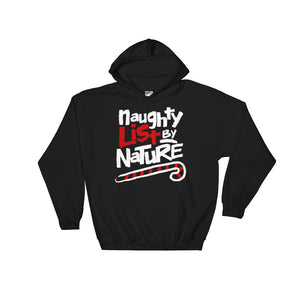 Naughty List by Nature Funny 90's Hip Hop Christmas Hoodie - Styleuniversal