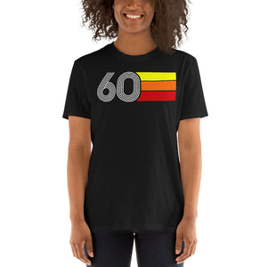 RETRO EXPO 1960 MEN'S WOMEN'S SHORT-SLEEVE UNISEX T-SHIRT
