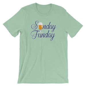 Sunday Funday Short-Sleeve Unisex T-Shirt - Styleuniversal