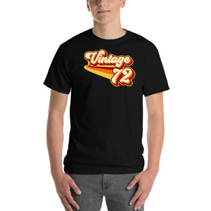 Vintage 1972 Warm Retro Lines CLASSIC FIT Short-Sleeve T-Shirt