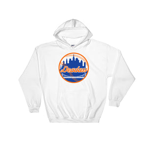 Deadass NYC New York City HipHop Baseball Hooded Sweatshirt - Styleuniversal