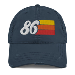 Vintage 86 Distressed Dad Hat
