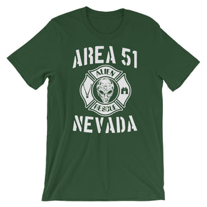 Area 51 UFO Alien Rescue Short-Sleeve Unisex T-Shirt