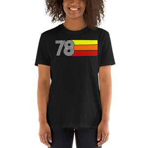 RETRO EXPO 1978 MEN'S WOMEN'S Short-Sleeve Unisex T-Shirt