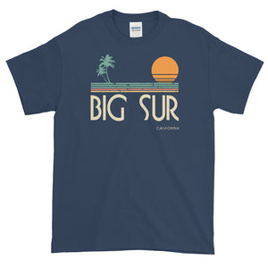 Big Sur California Surf Short-Sleeve T-Shirt - Styleuniversal