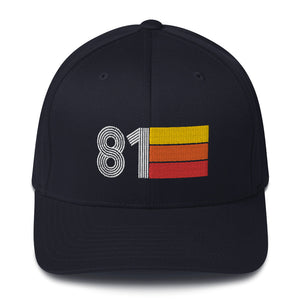 1981 Retro Fitted Structured Twill Cap